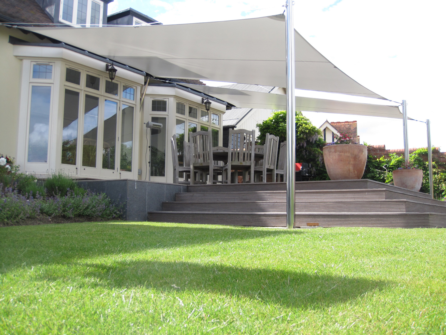 Shade Sails Expertly Designed And Installed By Alfresco365