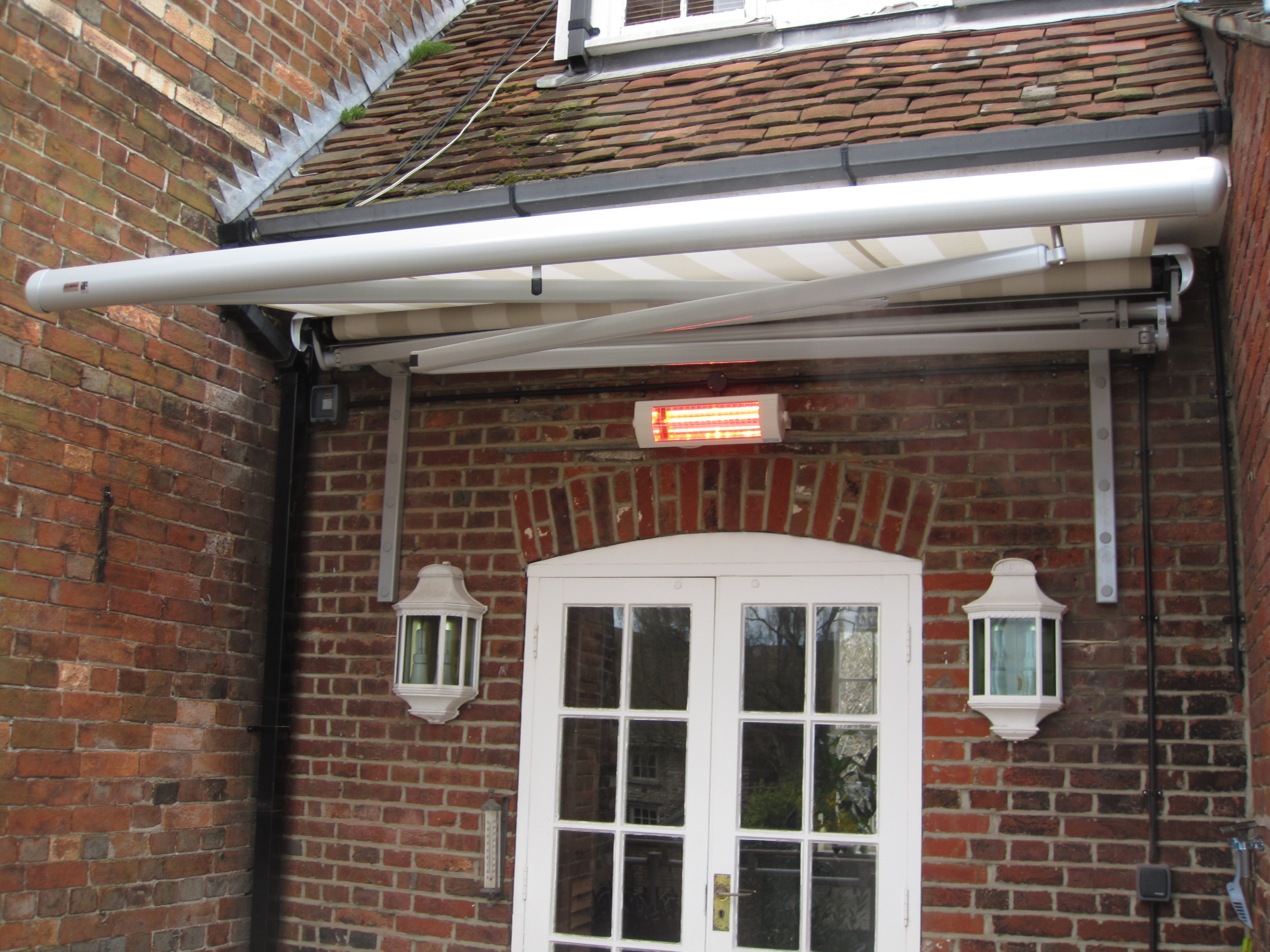 Electric Awning On PooleDorset First Floor Deck