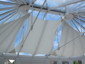 conservatory shade sail, inshade conservatory sails an interior alfresco lifestyle shade solution
