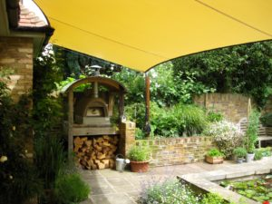 Tensile Sail for the BBQ alfresco lifestyle. Residential shade solutions